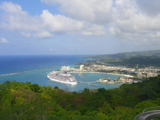 Rainforest Adventures Jamaica : View from the top !