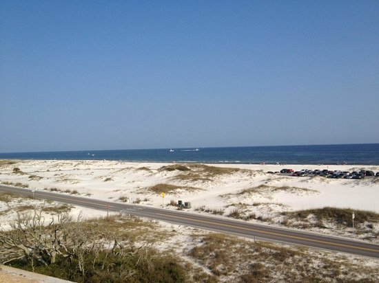 Fort Pickens Campground: Beach View