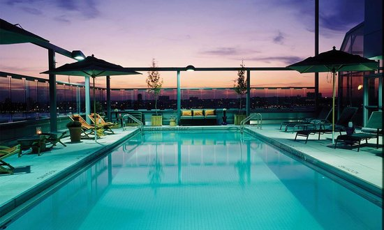 Gansevoort Meatpacking NYC: Rooftop Pool