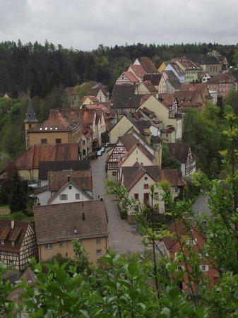 Schloss Haigerloch – view of the village