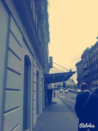 Novotel Wien City: Ingresso