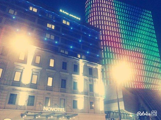 Novotel Wien City: Di notte