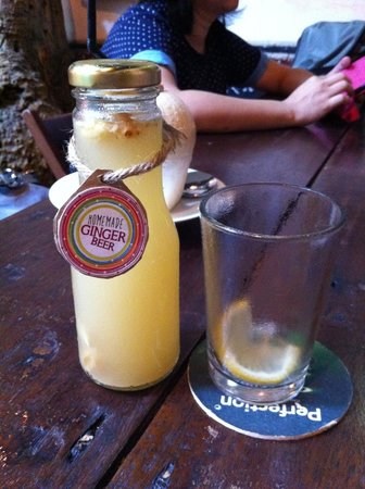 The Baboon House : Homemade Ginger Beer