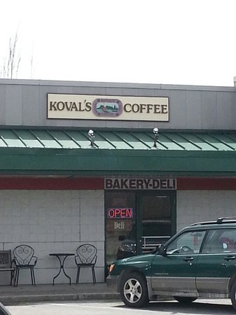 Koval's Coffee: koval's: exterior view