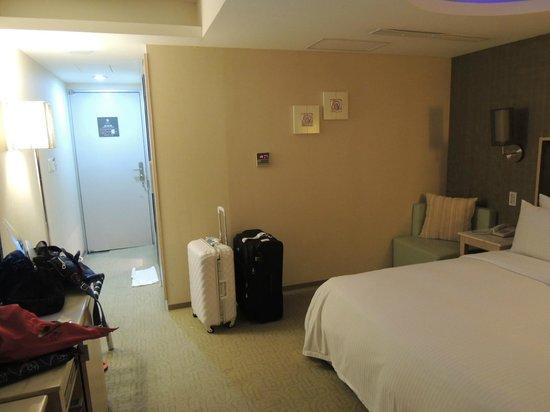 Sun Rise Business Hotel – Taipei Main Station: spacious room