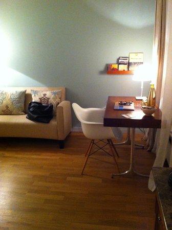 Hotel&Villa Auersperg: sehr gemütlich eingerichtete mini standard Suite