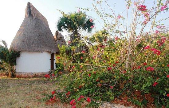 Complexe Munha Uxmal: Les petites cabanes