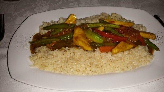 Restaurant Patricia: Pollo al Curry