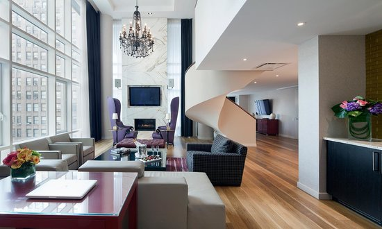 Gansevoort Park Avenue NYC: Presidential Living Room