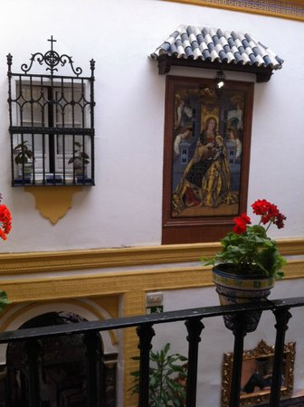 Hotel Abanico Sevilla : patio