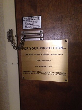 Wyndham Garden Amarillo: Don't feel any safer, but thanks for the added advice.