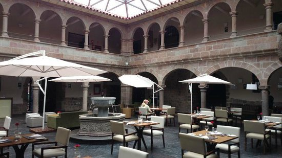 Novotel Cusco : Courtyard