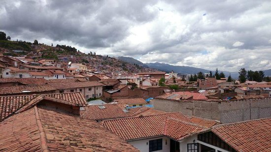 Novotel Cusco : From our window