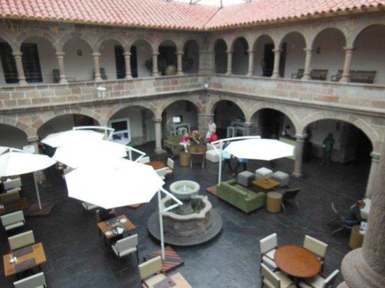 Novotel Cusco : Courtyard