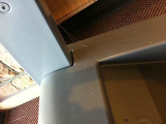 Arabella Hotel & Spa: Spider webs on treadmill