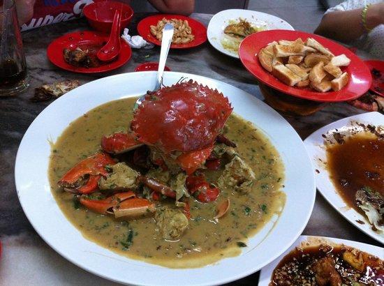 Restoran Tong Sheng: Milk Crab