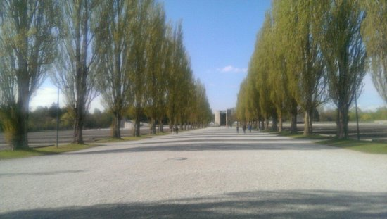 Dachau Concentration Camp Memorial Site: There was a chill in the air on this April afternoon