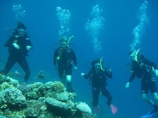 Desert Divers Dahab: primera experiencia de buceo