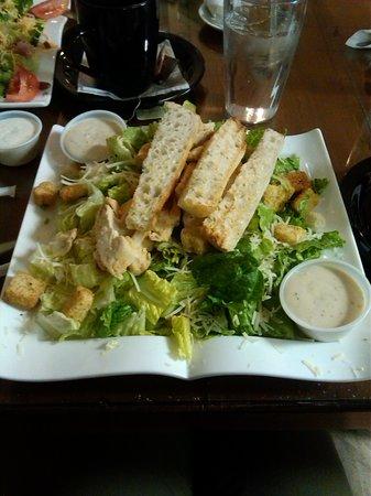 Crepe World: The Grilled Chicken Caesar Salad