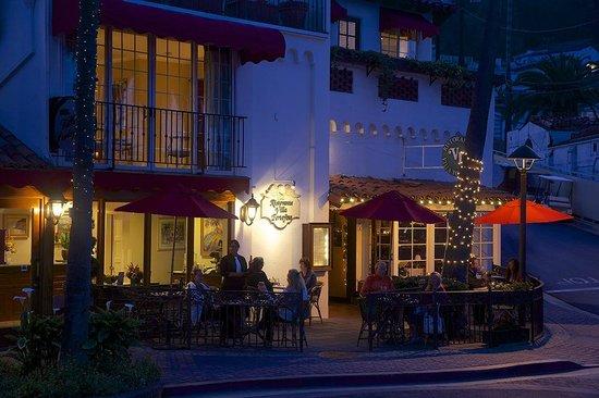 Portofino Hotel: Outdoor dining at The Ristorante Villa Portofino