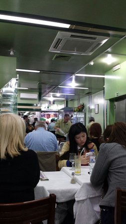 Restaurante Cervejaria Pinoquio: The internal view