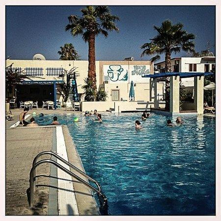 Nissia Kamares Hotel Apartments: Great pool area