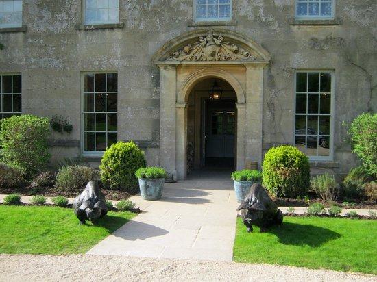 The Pig near Bath: Main  entrance