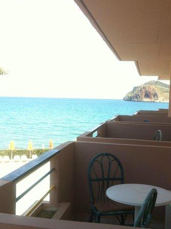 Hotel Haris: Blick aus dem Zimmer