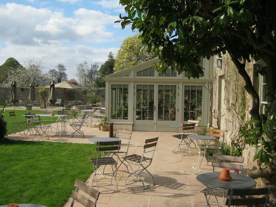 The Pig near Bath: New conservatory and patios