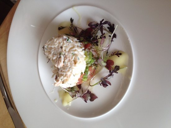 Ben's Cornish Kitchen: Newlyn crab salad and avocado