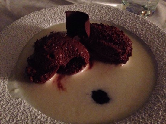 Ocean: Chocolate mouse