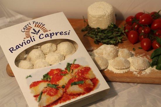 Capri Pasta : Ravioli