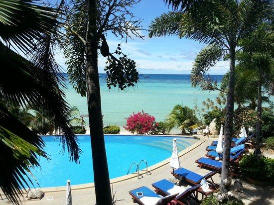 Ko Tao Resort: Het zwembad beneden