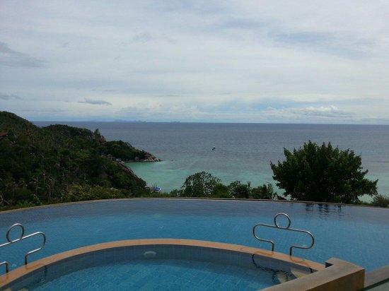 Ko Tao Resort: Het zwembad op de berg