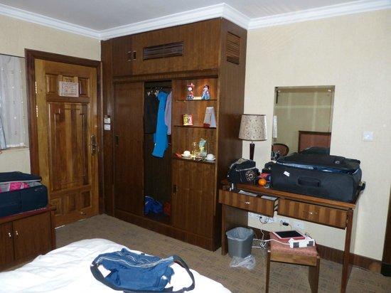 Hexi Hotel, Lijiang: Bergruimte genoeg