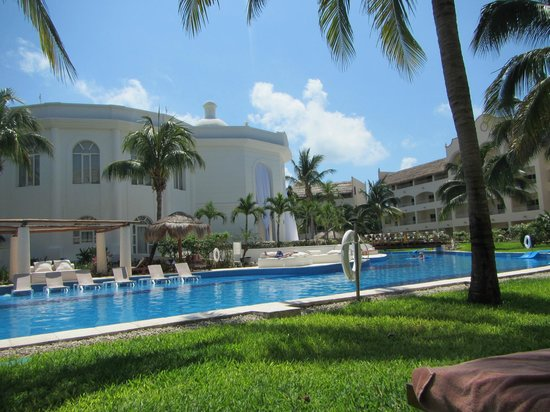 Excellence Riviera Cancun : view from rm the spa