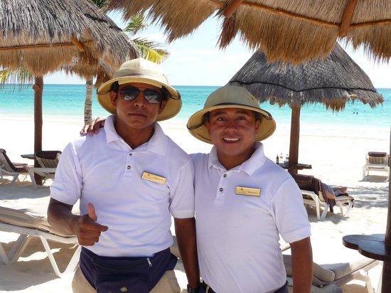 Secrets Maroma Beach Riviera Cancun: The Beach Boys!!!