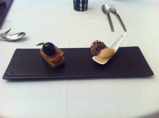 Manoir de la Boulaie : Salty carammel Chocolate ganache