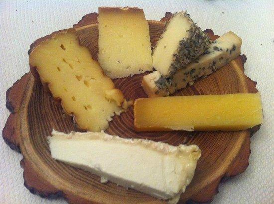 Manoir de la Boulaie : Very good cheese