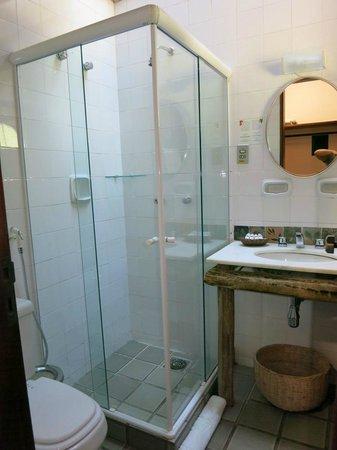Hotel de Lencois: Banheiro quarto standard 23