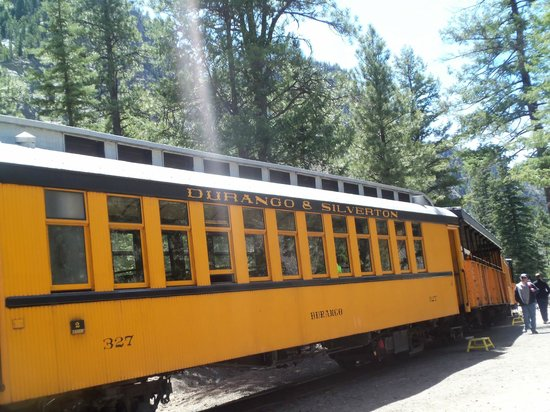Durango and Silverton Narrow Gauge Railroad and Museum: Passenger cars