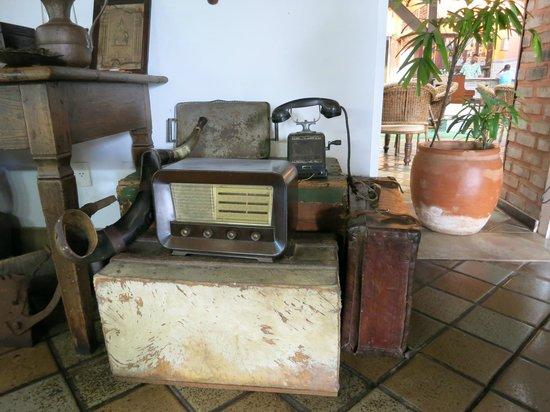 Hotel de Lencois: Decoração da recepção