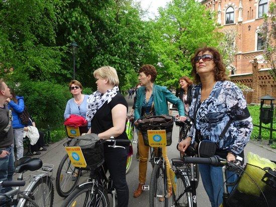 Krakow Bike Tour: luisteren naar 'Mattie'