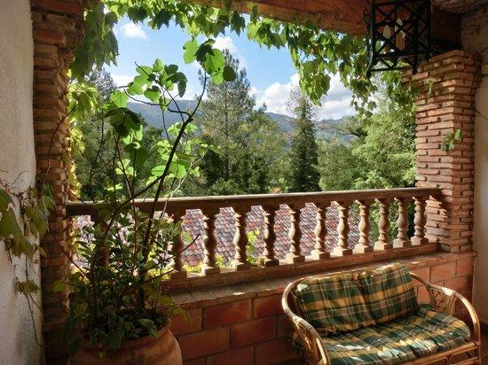 Hotel Rural Convento Santa Maria de la Sierra : Terraza