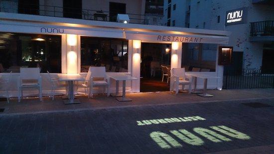 Terraza Nunu Restaurant