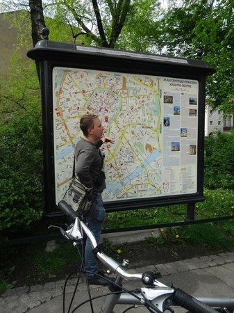 Krakow Bike Tour: 'Mattie' legt uit