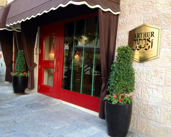 Arthur Hotel Jerusalem - an Atlas Boutique Hotel: Entrance to hotel