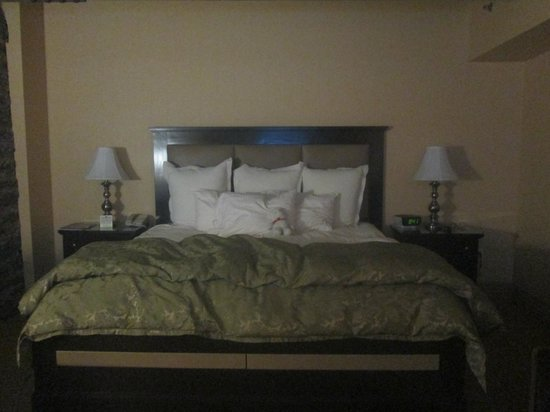Craddock Terry Hotel: bed comfy and linens/comfortable great