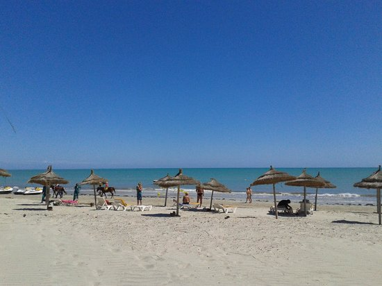 Isis Hotel and Spa: La plage