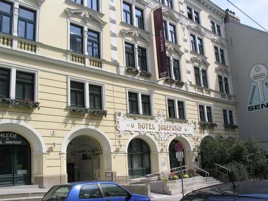 Mercure Josefshof Wien am Rathaus: Fachada Hotel